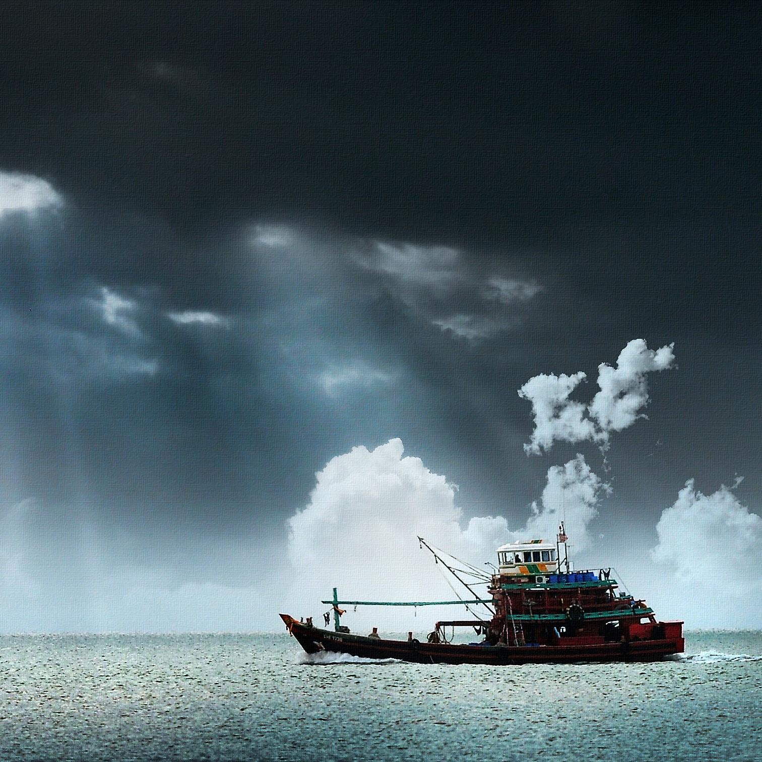 Dystopie in Vis: klimaatfictie op zee